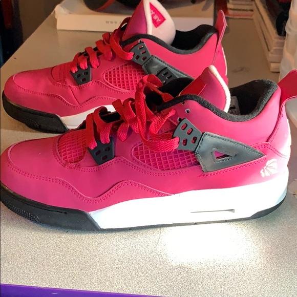 Jordan Shoes | Jordan Retro 4 Hot Pink
